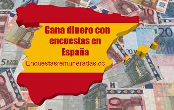 Dinero con encuestas espana