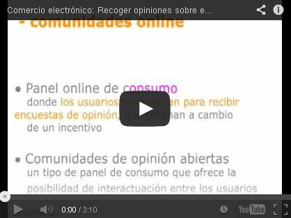Video: recoger opiniones pagadas sobre productos es vital